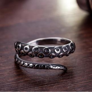 Men's Octopus Ring